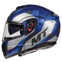 Mt Helmets Atom Sv Transcend E7 Blue
