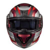 Mt Helmets Atom Sv Transcend F5 Red