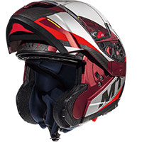 Mt Helmets Atom Sv Transcend F5 Rosso