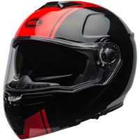 Bell Srt Modular Ribbon Helmet Red
