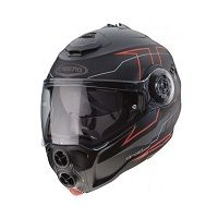 Caberg Droid Blaze Matt Black Fluo Red
