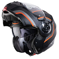 Caberg Droid Pure Modular Helmet Orange Black