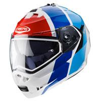 モジュラーヘルメット Caberg デューク2インパクトレッドブルー