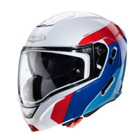 Caberg Horus Scout White Red Blue