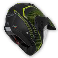 Caberg Tourmax Sonic Yellow Modular Helmet - 3
