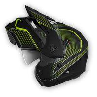 Caberg Tourmax Sonic Yellow Modular Helmet - 5
