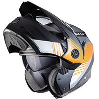 Caberg Tourmax Titan Modular Helmet Orange