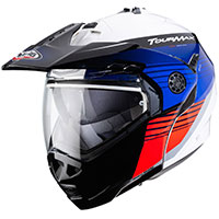 Caberg Tourmax Titan Modular Helmet Blue Red