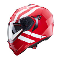 Casco Modular Caberg Duke 2 Superlegend rojo