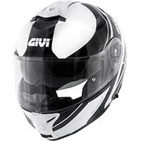 Givi X.21 Challenger Globe Nero Bianco
