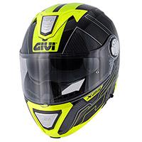 Casco modular Givi X23 Sydney Protect amarillo