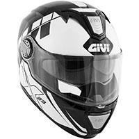Givi X23 Sydney Eclipse Modular Helmet Black White