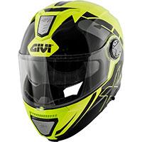 Givi X23 Sydney Eclipse Modular Helmet Black Yellow