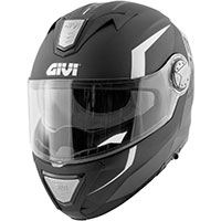Givi X23 Sydney Viper Modular Helmet Black Silver