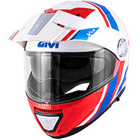 Givi X33 Canyon Division Modular Helmet Red Blue