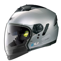 Casco Grex G4.2 Pro Kinetic N-com Silver