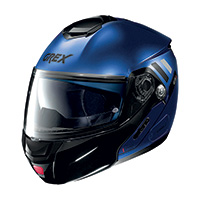 Grex G9.2 Offset N-com Modular Helmet Cayman Blue