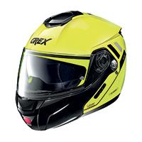Grex G9.2 Offset N-com Modular Helmet Led Yellow