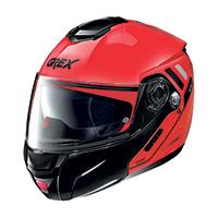 Grex G9.2 Offset N-com Modular Helmet Corsa Red
