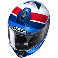 Hjc I90 Hollen Modular Helmet Blue Red White