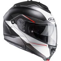 Hjc Is-max 2 Magma Helmet Black White Red