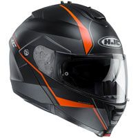 Hjc Is-max 2 Mine Mc7sf Nero Arancio