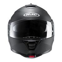 HJC ist Max 2 Rubberton Helm flach schwarz - 3