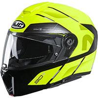 HJC RPHA 90S ベカボ モジュラーヘルメット ブラックイエロー