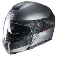 HJC Rpha90Sカーボンルーブモジュラーヘルメットグレー
