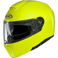 HJC RPHA 90Sモジュラーヘルメットイエローフルオ