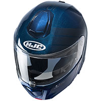 Casco Modular HJC Rpha 90S Carbon Balian azul