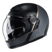 HJCV90モビックスモジュラーヘルメットブラック