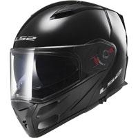 Ls2 Metro Ff324 Solid Black