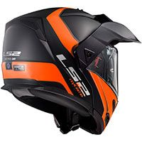 Ls2 Ff324 Metro Evo P/j Rapid Matt Black Orange