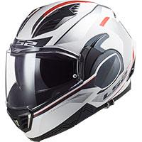 Ls2 Ff900 Valiant 2 Hub Helmet White Silver