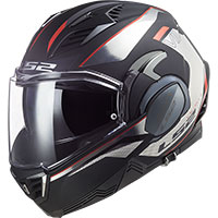 Ls2 Ff900 Valiant 2 Hub Helmet Black Chrome