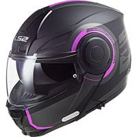 Ls2 Ff902 Arch Modular Helmet Black Pink
