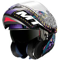 Casco Modulare Mt Helmets Atom Sv Axa A1