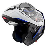 Casco Modulare Mt Helmets Atom Sv Opened B7 Blu