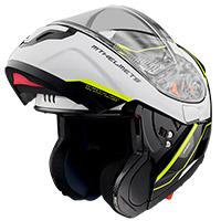 Casco Modulare Mt Helmets Atom Sv Opened B3 Giallo