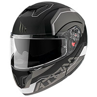 Mt Helmets Atom Sv Quark A0 Modular Helmet White