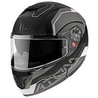 Casco Modulare Mt Helmets Atom Sv Quark A0 Bianco