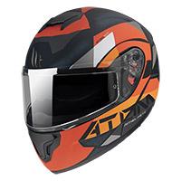 Casco Modulare Mt Helmets Atom Sv W17 A4 Arancio