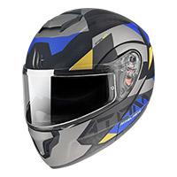Casco Modulare Mt Helmets Atom Sv W17 A2 Grigio