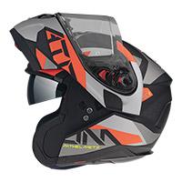 Casco Modulare Mt Helmets Atom Sv W17 A5 Rosso
