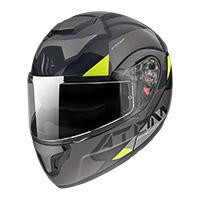 Casco Modulare Mt Helmets Atom Sv W17 B2 Grigio