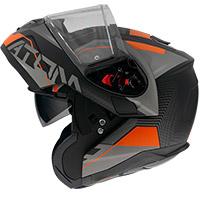 Mt Helmets Atom Sv Quark A4 Modular Helmet Orange