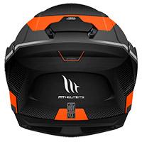 Casco Modulare Mt Helmets Atom Sv Quark A4 Arancio