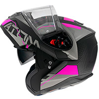 Mt Helmets Atom Sv Quark A8 Modular Helmet Pink