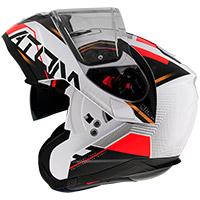 Mt Helmets Atom Sv Quark B5 Modular Helmet Red